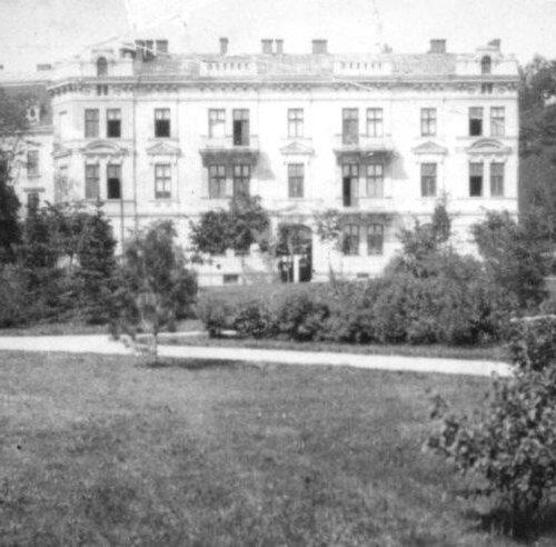 Lwów, Pałac na Kurkowej
