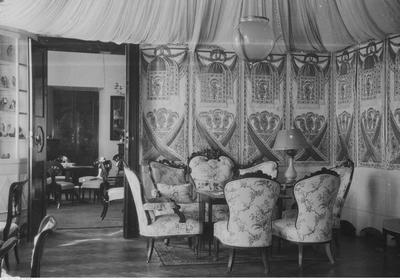Pałac w Zarzeczu, fragment wnętrza