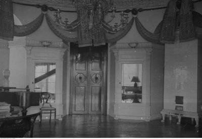 Pałac w Zarzeczu, widok sali balowej