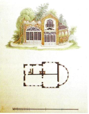 13. Struktura ogrodowa (?), Lwowska Galeria Sztuki. Zamek w Olesku, fot. K. Kopania