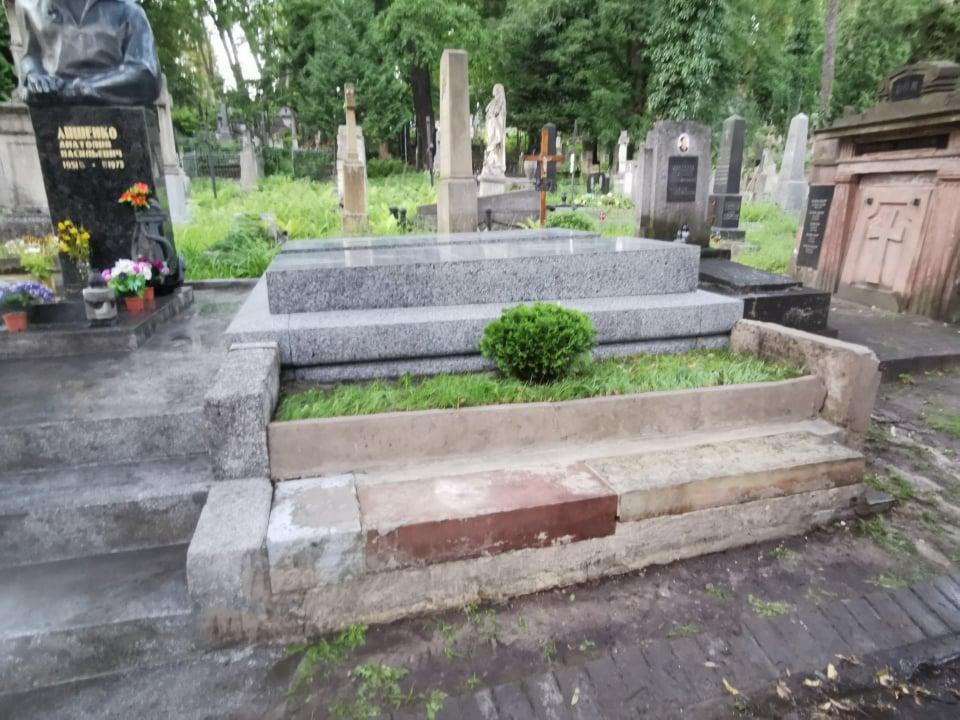 Renowacja nagrobków Róży i Kazimierza Dzieduszyckich na Cmentarzu Łyczakowskim we Lwowie